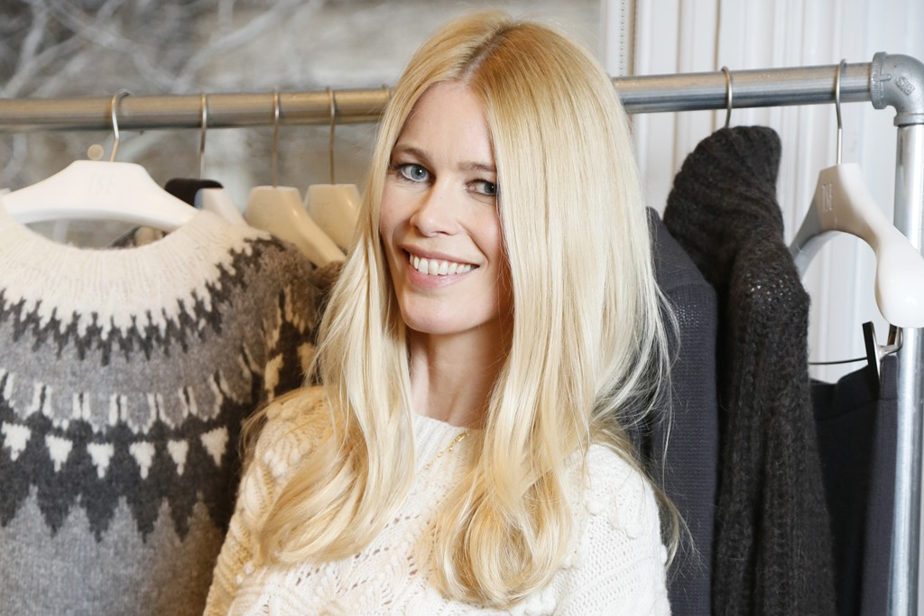 Claudia Schiffer is Schwarzkopf's muse with the new collection.