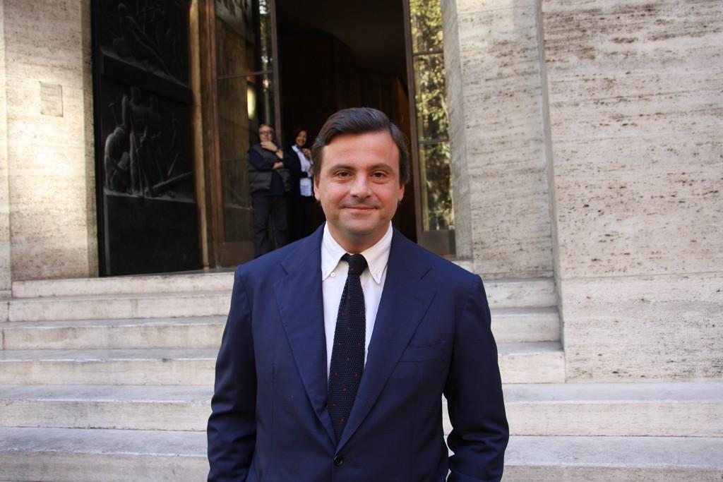 Deputy Minister of Economic Development Carlo Calenda.