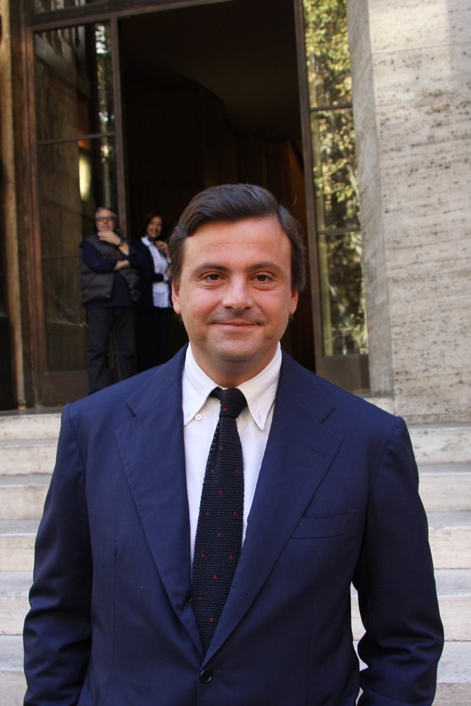 Deputy Minister of Economic Development Carlo Calenda.