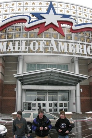 Mall of America prohibits demonstrations on its property.