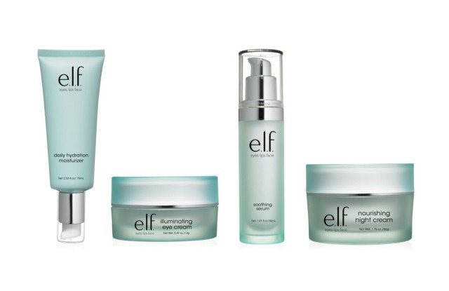 Skin products by e.l.f. Cosmetics.