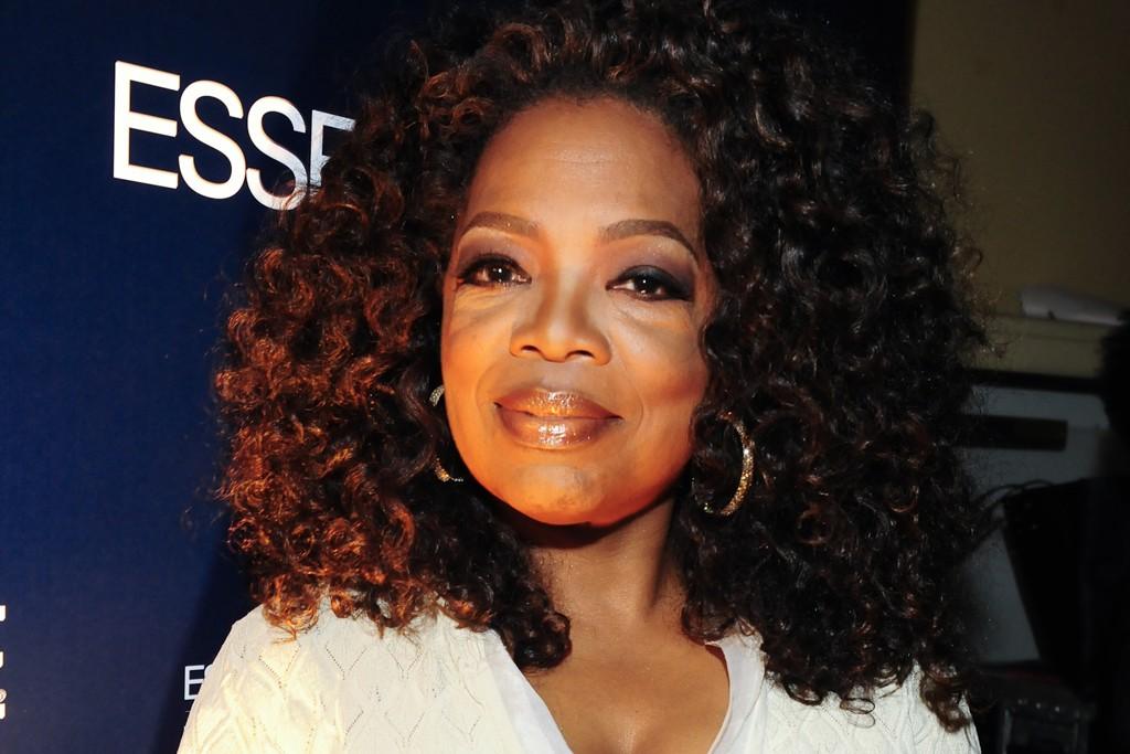 Oprah in Alexander McQueen.