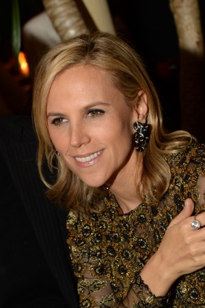 """9:44 p.m.: """"She's such a maneater,"""" I overhear someone say about Tory Burch as she arrives with Pierre Yves Roussel. I don't see why not. She's beautiful, talented, intelligent, nice and one of the few fashion designers actually making big money."""