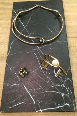 Looks from Jason Wu's jewelry launch.