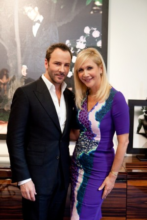 Tom Ford and Tania Bryer