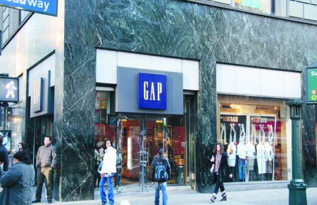 Fitch Ratings cut its outlook on Gap after a tough year.