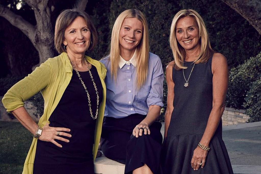 Karen Behnke, Gwyneth Paltrow and Lisa Gersh.