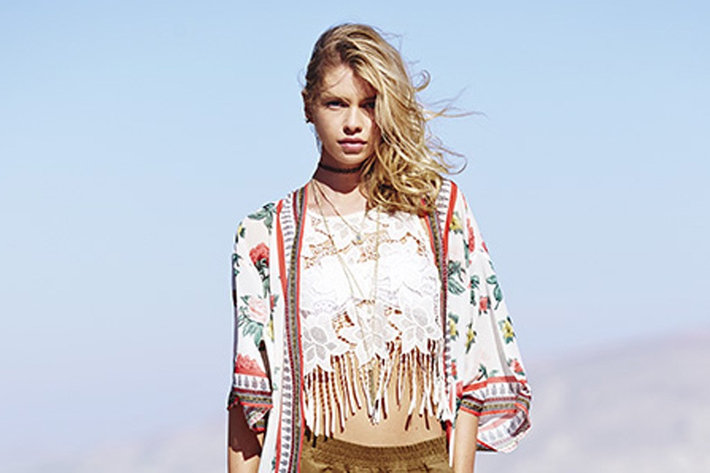 A look from the H&M Loves Coachella collection.