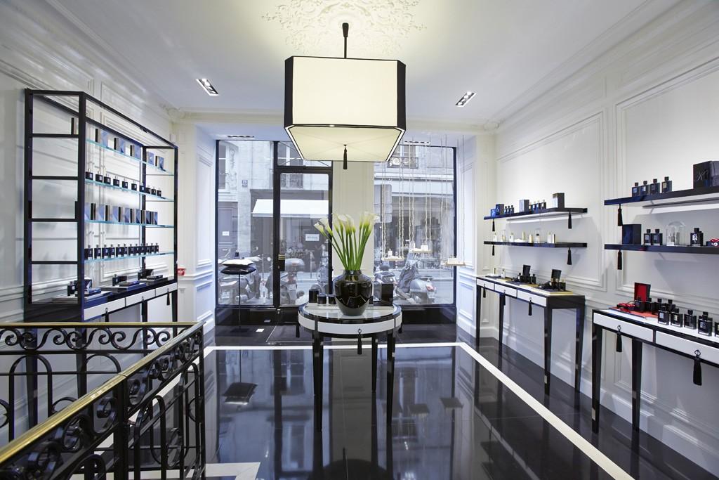 The Kilian store in Paris.