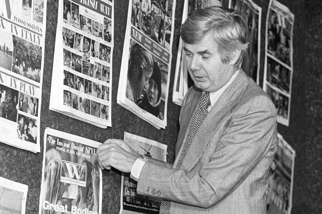 John B. Fairchild, 1976.