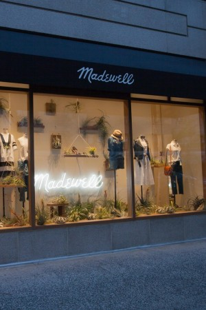 The Madewell store.