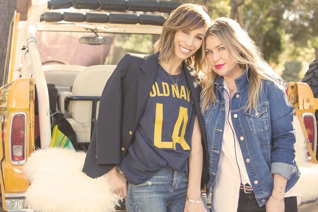 Meritt Elliott and Emily Current are the new style ambassadors for Old Navy.