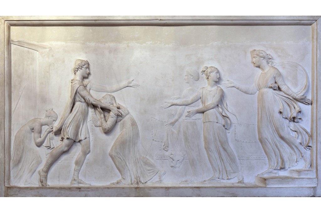 """Antonio Canova's """"Return of Telemachus to Ithaca,"""" at Venice's Correr museum, which is receiving support from the U.S. Friends of Venice foundation."""
