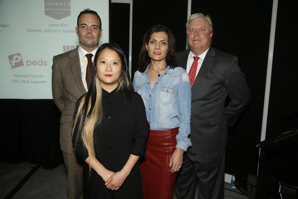 Michael Penner, Joann Kimm, Tricia Carey and Tom Aubrey.