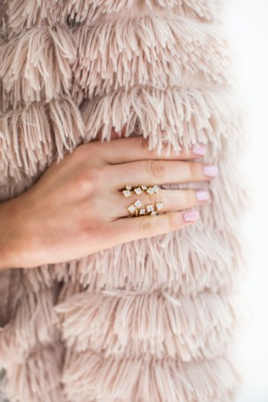 A ring from blogger Rachel Parcell of Pink Peonies' first jewelry collection.