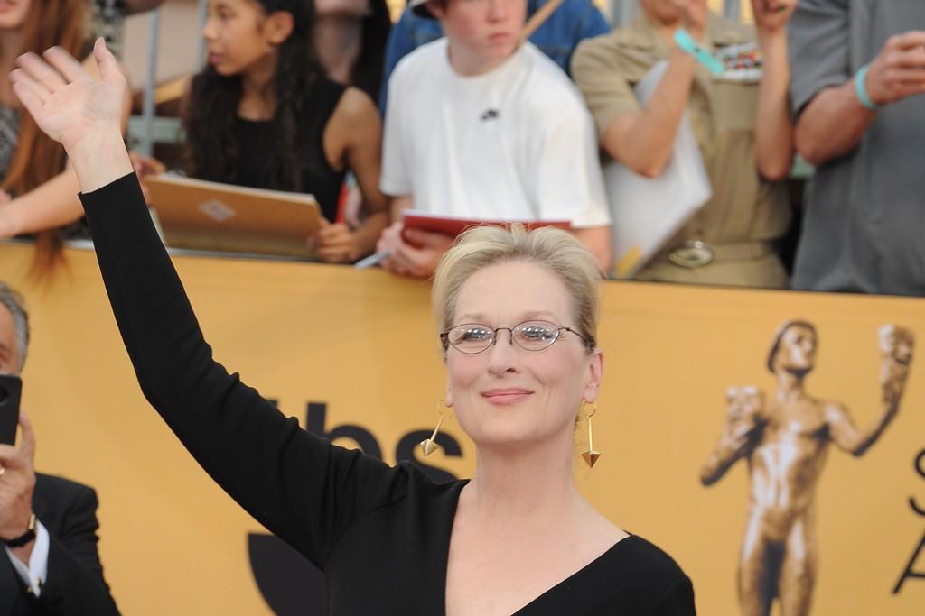 Meryl Streep in Lanvin.