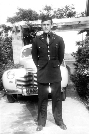 Henry Segerstrom enlisted in the Army in 1942.