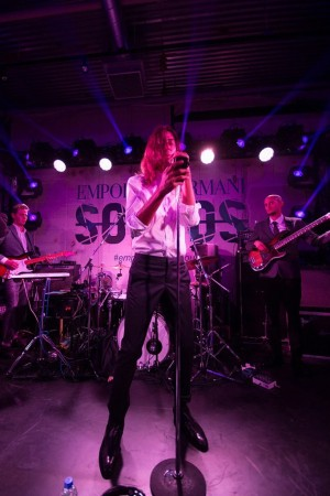 Kindness performing live at the Emporio Armani Sounds in Tokyo