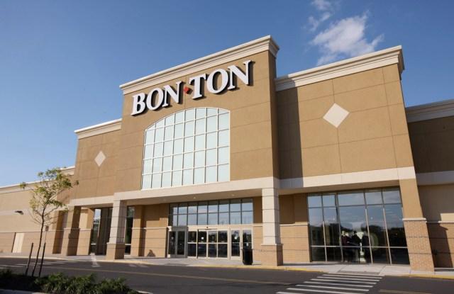 Outside a Bon-Ton location.