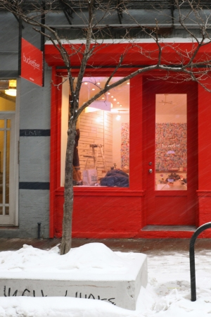 The BucketFeet store in New York.