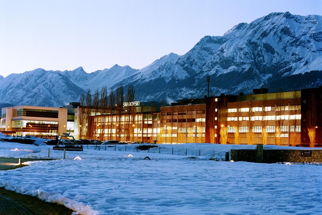 The Swarovski headquarters in Wattens, Austria.