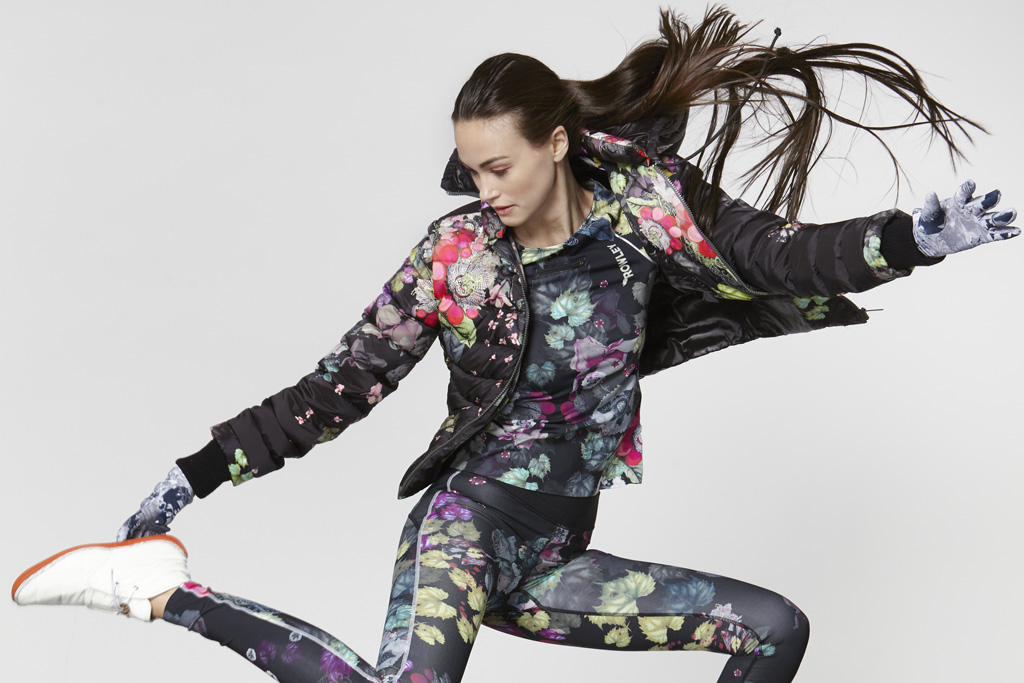 A look from Cynthia Rowley's new fitness line.
