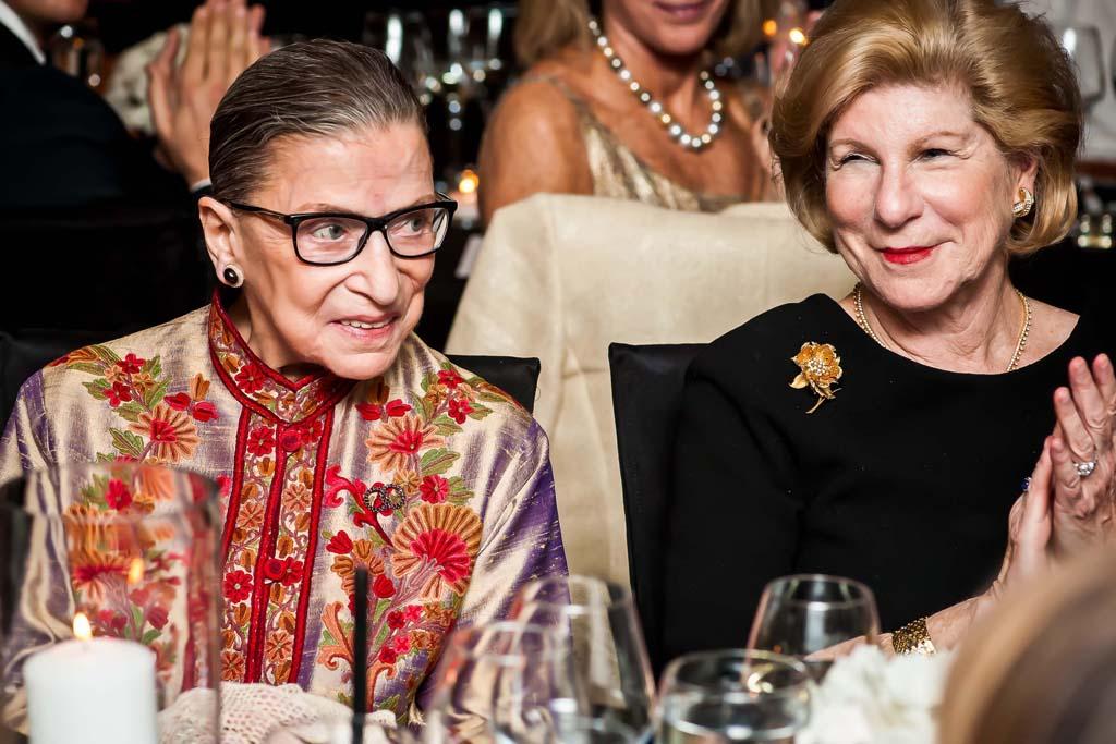 Ruth Bader Ginsburg and Nina Totenberg