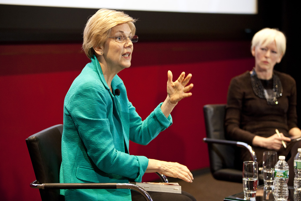 Joanna Coles, Elizabeth Warren