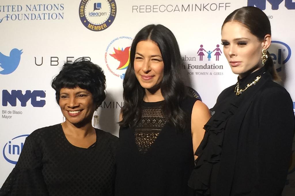 Rosalind Hudnell, Rebecca Minkoff, Coco Rocha