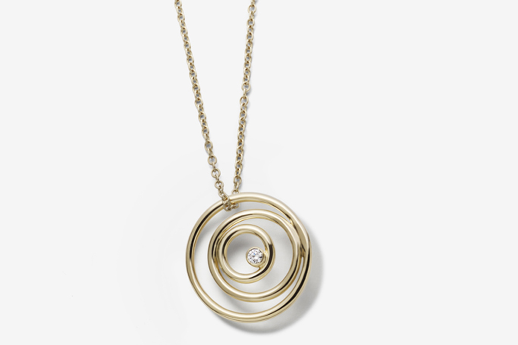 A necklace from Swarovski's fine jewelry collection.