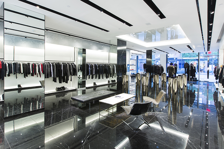 The Kooples boutique in the Meatpacking district