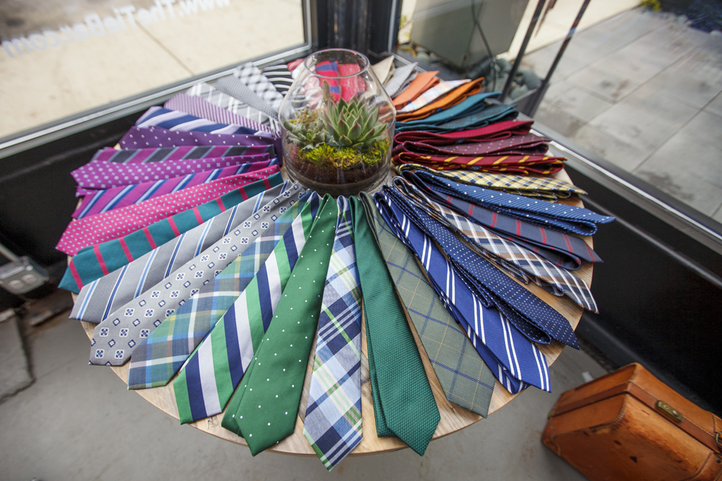 The Tie Bar store in Chicago.