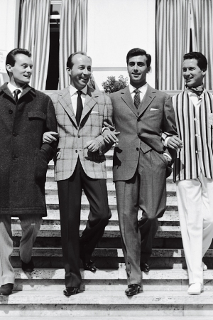 Men's wear, Italian style.