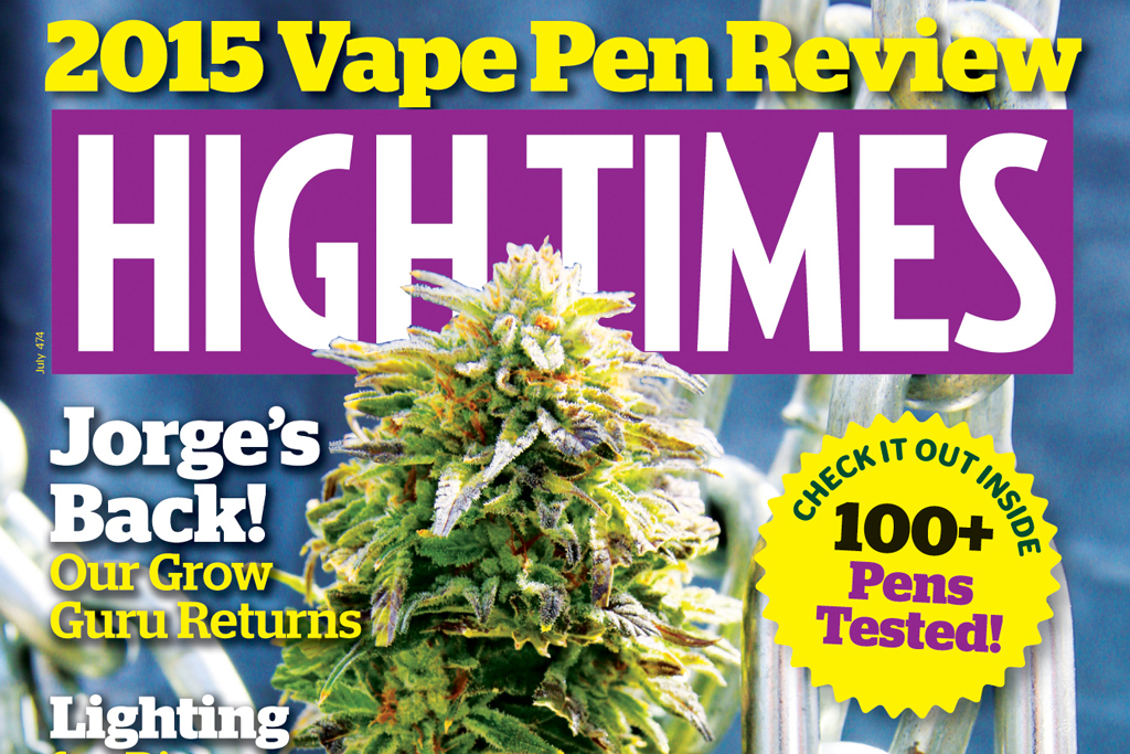 The Cover of High Times.