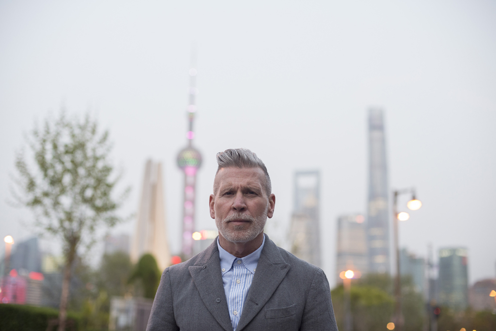 Nick Wooster, Shanghai,