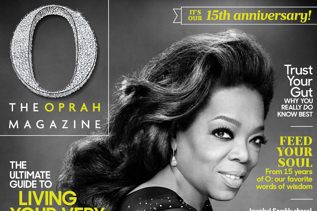 O, The Oprah Magazine, 15th Anniversary