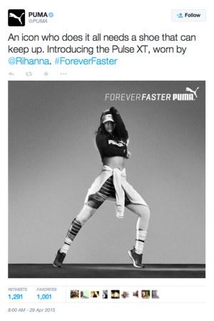 Rihanna, Puma