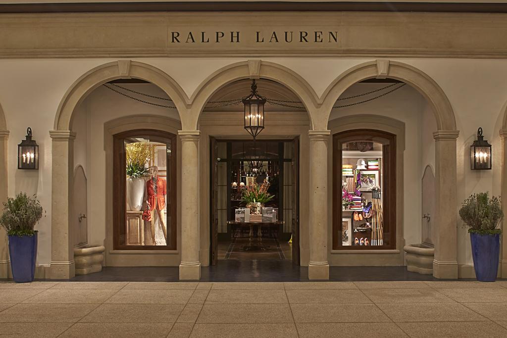 The Ralph Lauren store in São Paulo.