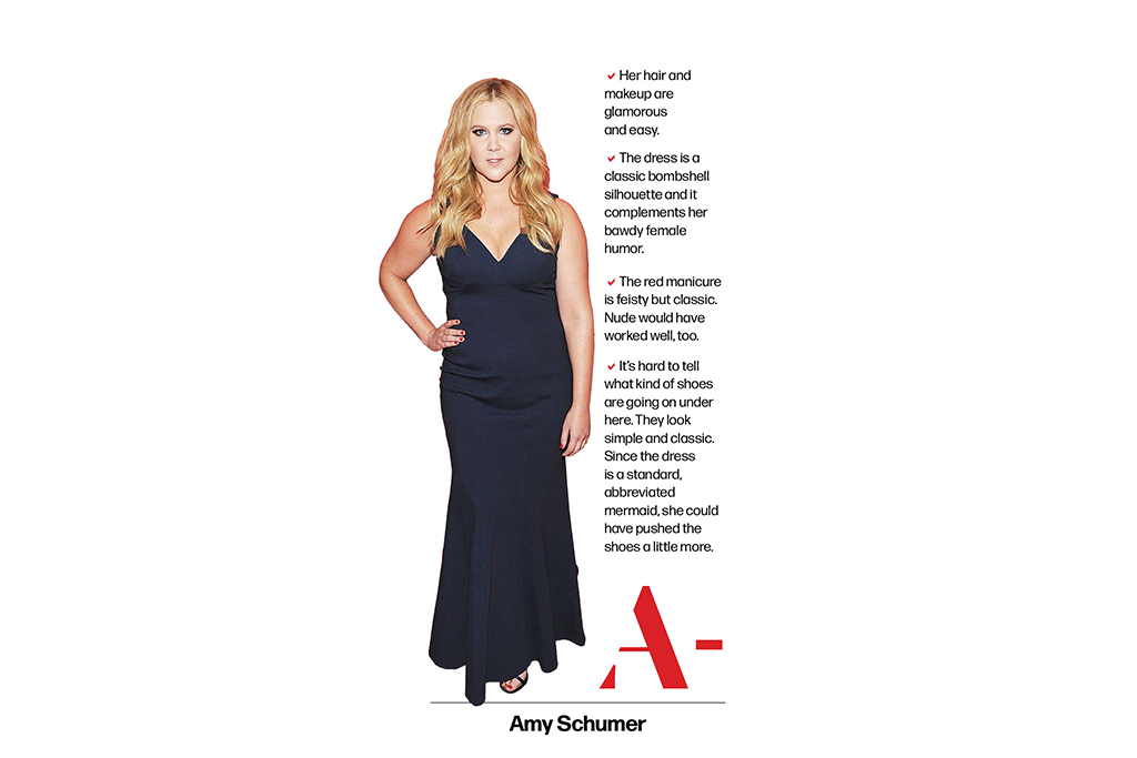 Amy Schumer, Women's Report Card