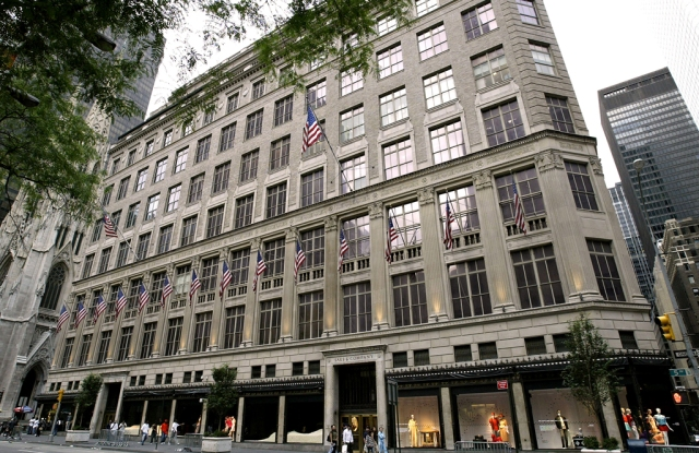 The Saks Fifth Avenue flagship