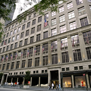 The Saks Fifth Avenue flagship.