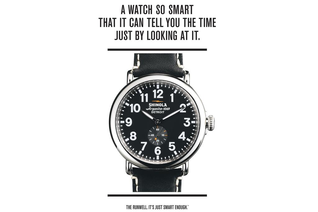 Shinola, smart watch