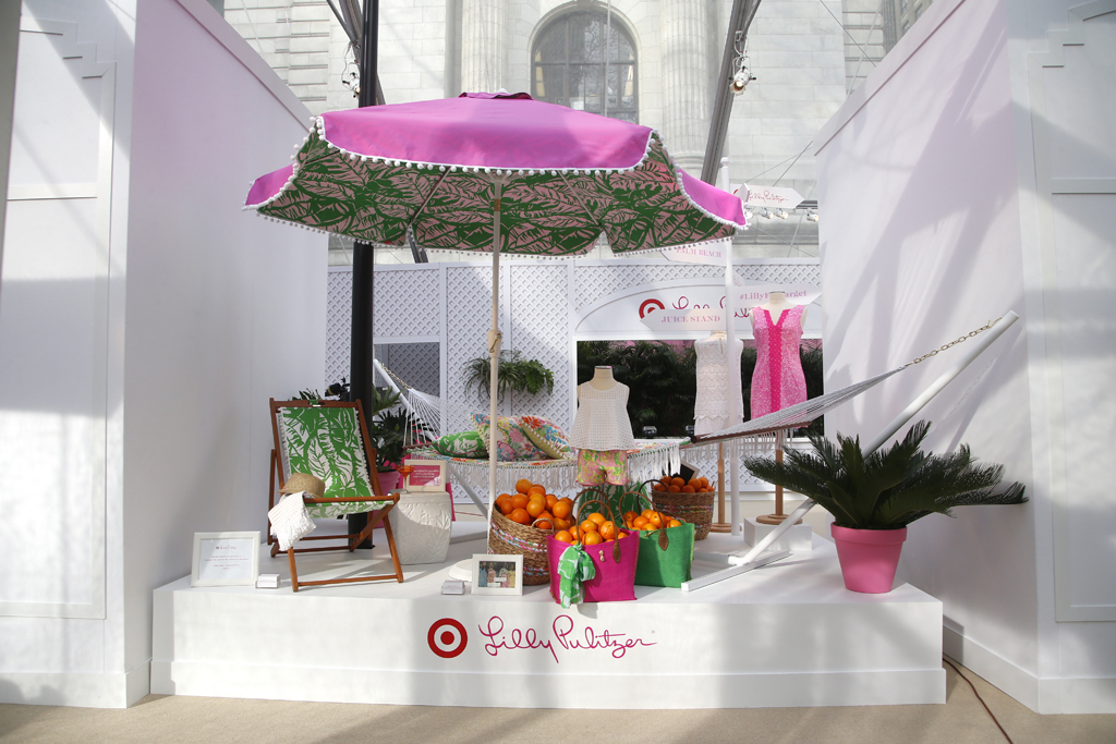 Lilly Pulitzer For Target Pop-up shop