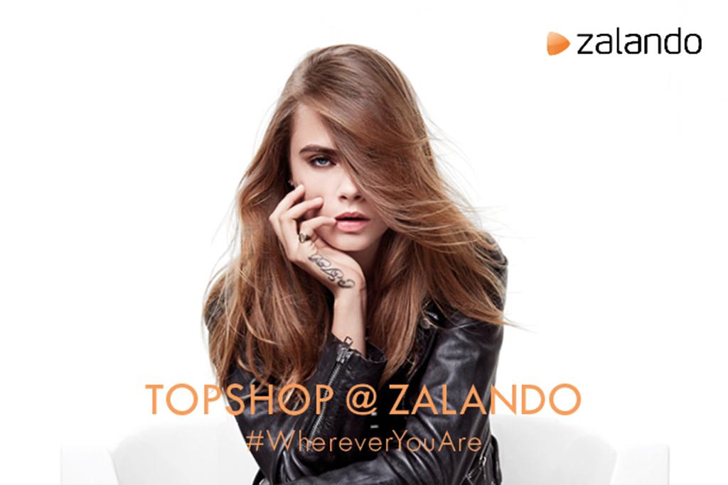 Cara Delevingne Topshop Zalando Campaign