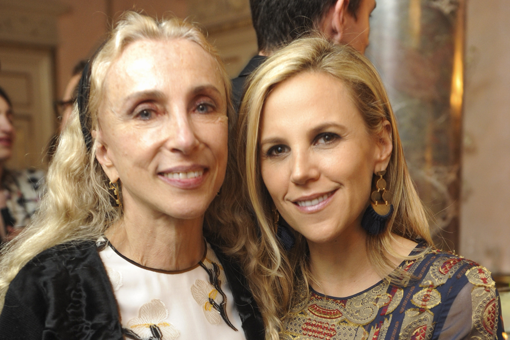Franca Sozzani and Tory Burch