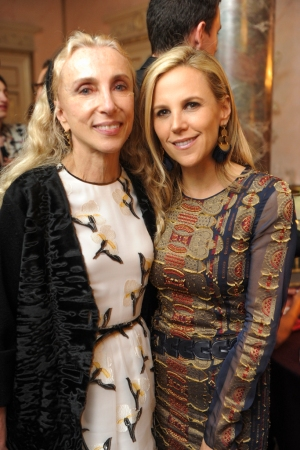 Franca Sozzani and Tory Burch