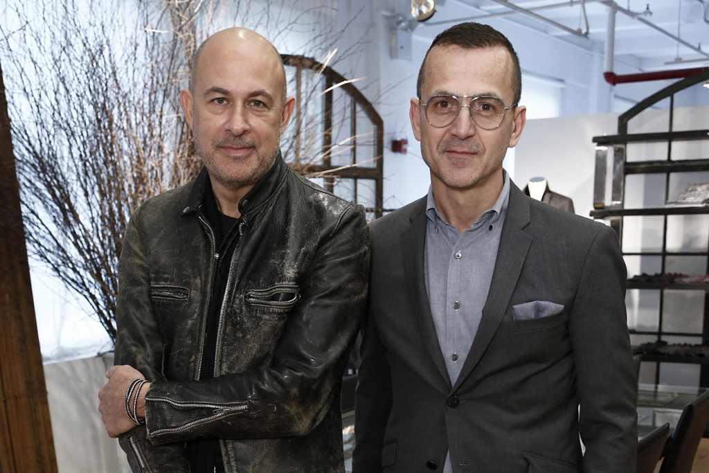 John Varvatos and Steven Kolb