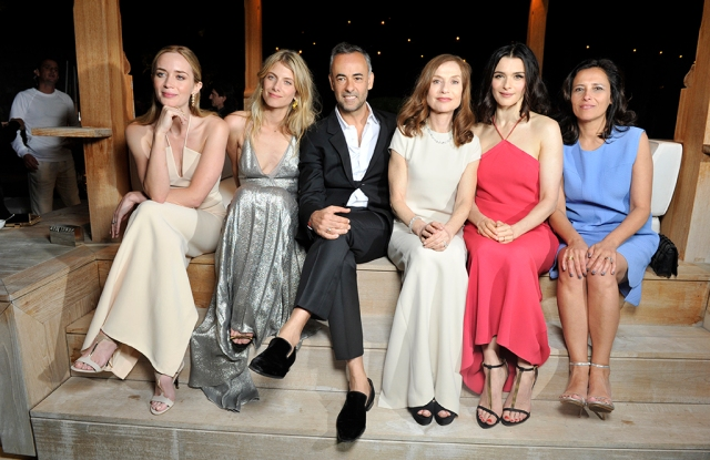 Calvin Klein Female Talent in Cannes