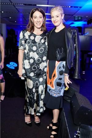 Vogue Australia editor-in-chief and AFC chair Edwina McCann and Parlour X director Eva Galambos
