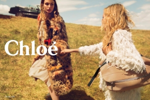 A visual from Chloé Fall 2015 ad campaign.